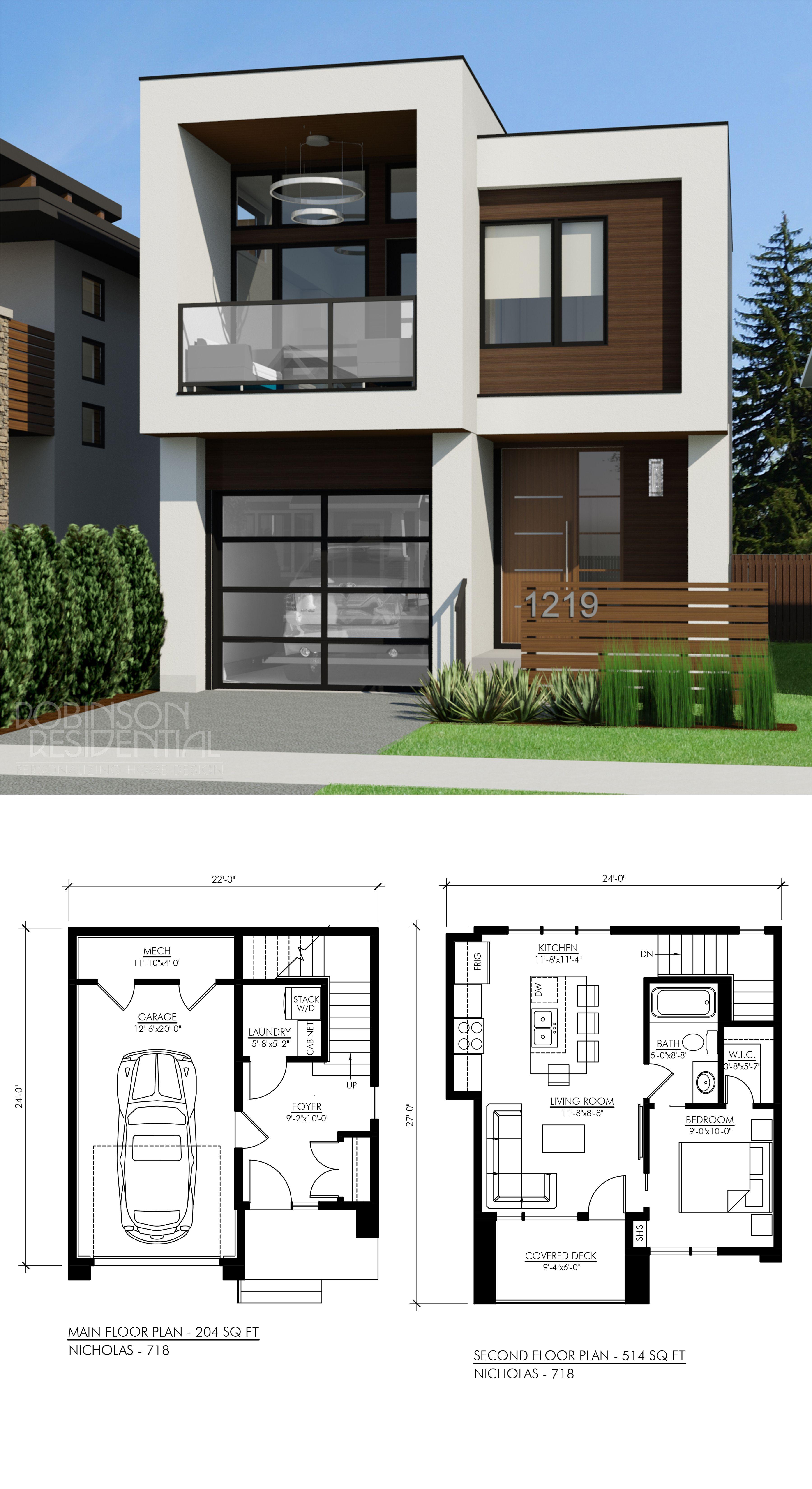 Contemporary Nicholas 718 Minimalist House Design House Designs Exterior Contemporary House Plans