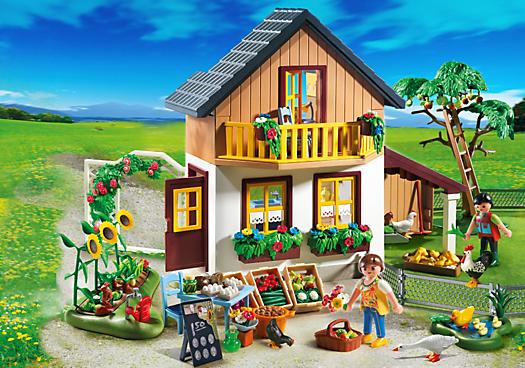 Farm House With Market Playmobil Canada Playmobil Reiterhof Playmobil Playmobil Mobel