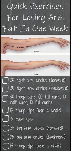Photo of 8 mal am Tag schnelle Übungen, um Armfett in einer Woche zu verlieren – Health and Food Maga …