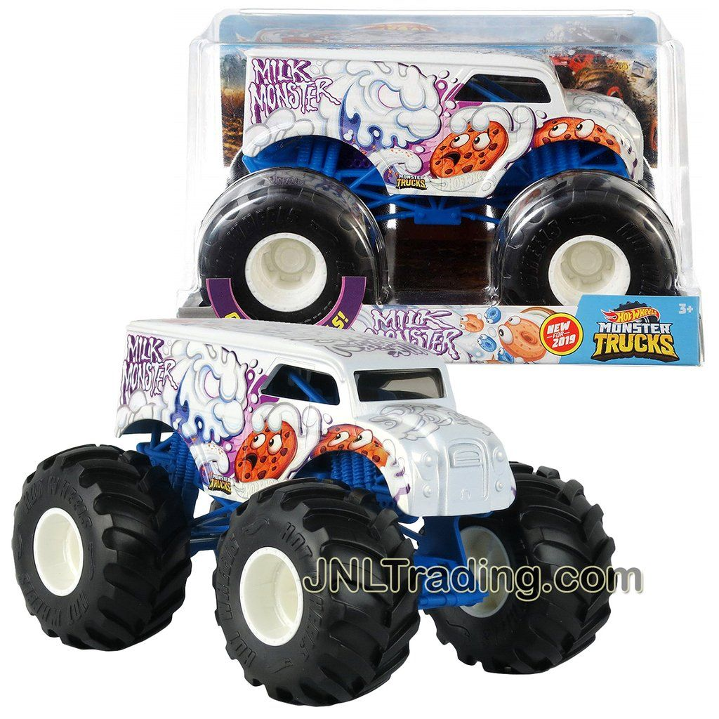 Hot Wheels Year 2018 Monster Trucks 1:24 Scale Die Cast