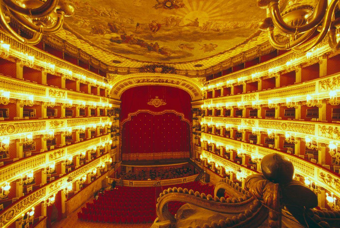 Una Noche En La ópera Los 14 Mejores Teatros Del Mundo Teatro Del Mundo ópera Mundo