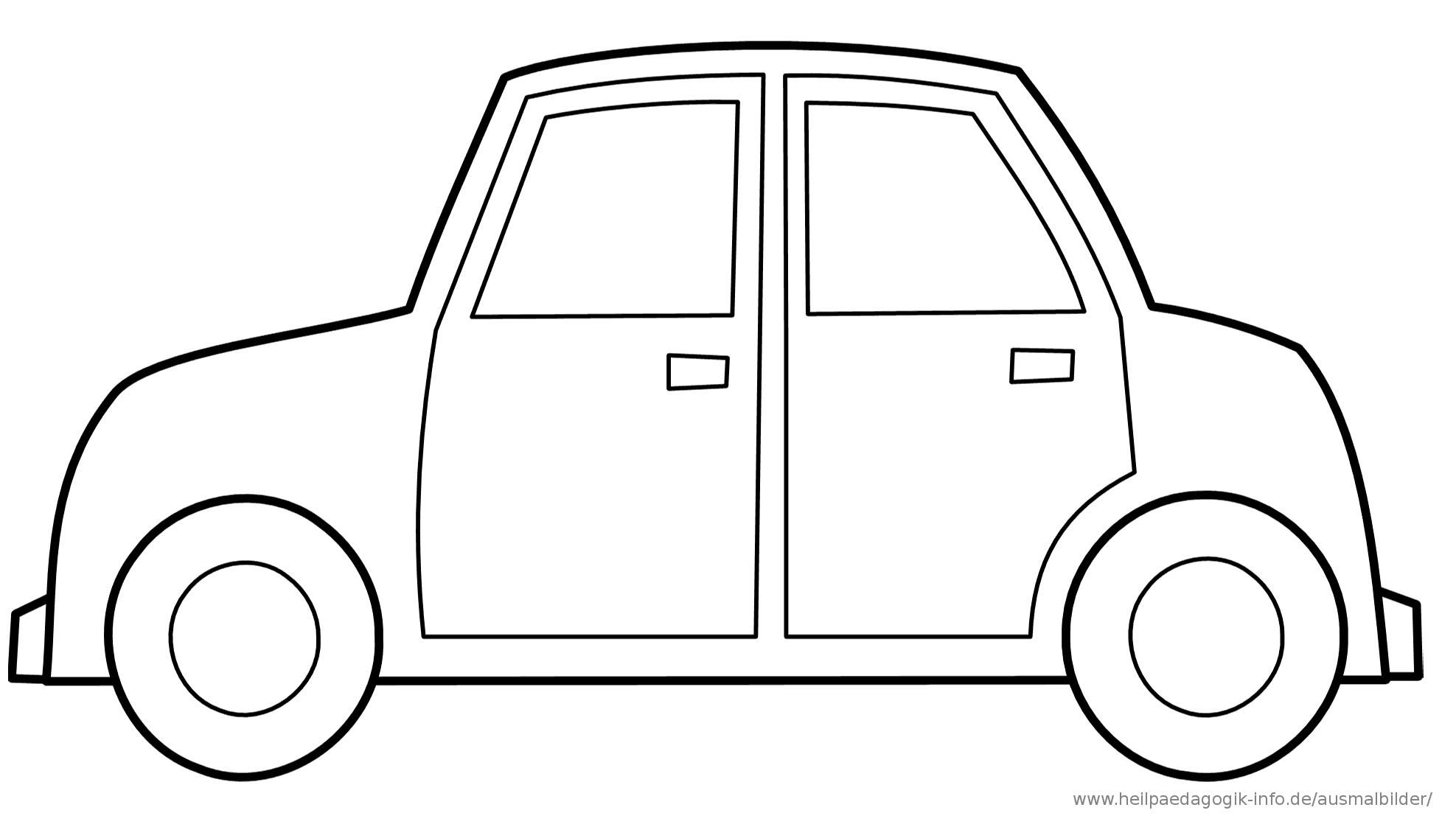 Malvorlage Cars