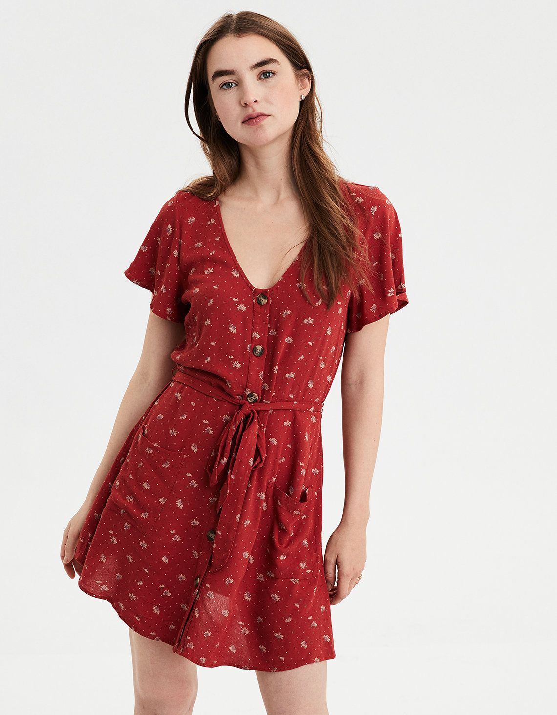 5310b3658e American Eagle Outfitters · Dolls · Product Image Button Up Dress