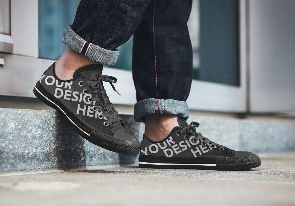 Download Shoe Sneaker Mockup Free Psd Sneakers Free Mockup Shoe Artwork