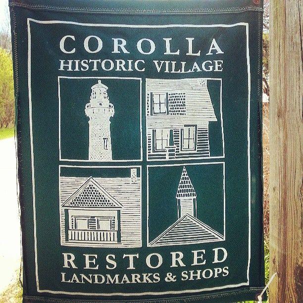 Historic Corolla Village: restored landmarks and shops