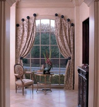 Window Treatments For Tricky Windows Simply Designing With Ashley Living Room Blinds Arched Window Treatments Blinds Design