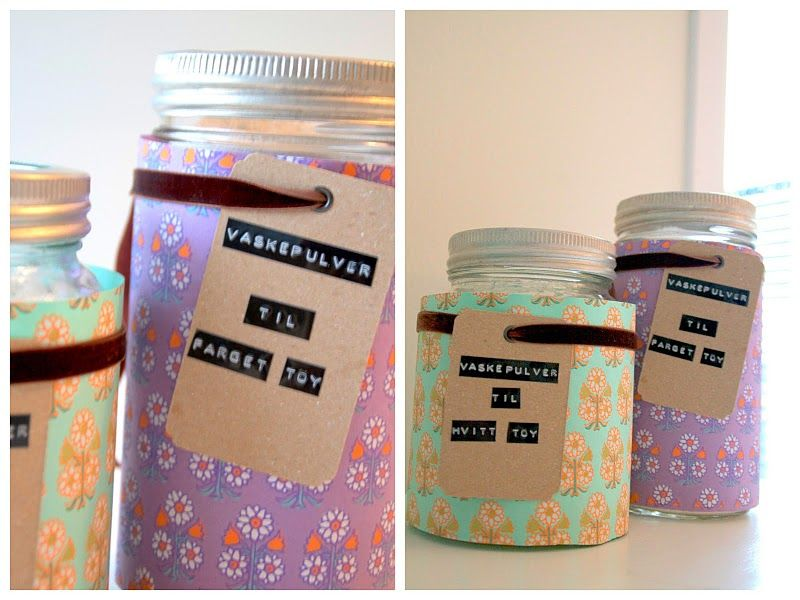 paper-wrapped jars