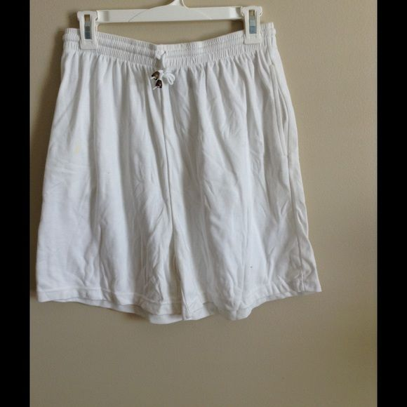 White Shorts Premier white shorts 65% polyester. Very comfortable Premier Shorts