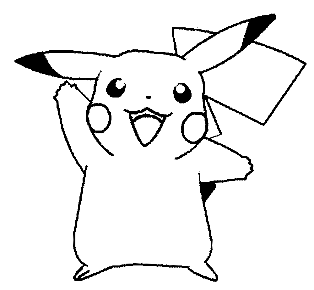 Pokemon Coloring Pages Pikachu Saraide Com