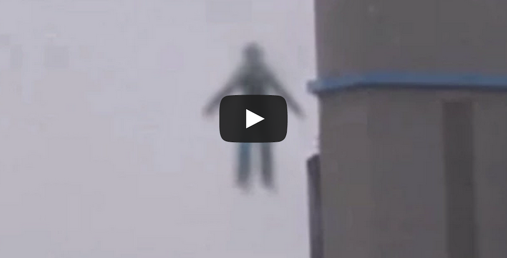 A Flying Humanoid Was Caught On Film And Everyone Was In Shock! Flying humanoid caught on video on February 9, 2015. They say it could possibly be an alien