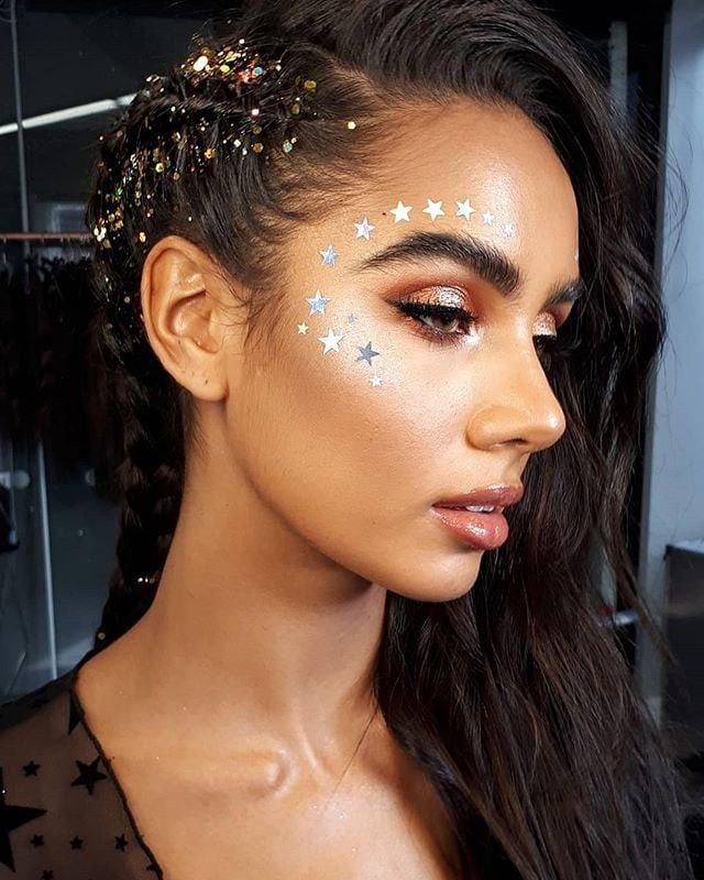 Diese 45 Festival-Make-up-Ideen sind die Inspiration für das Wochenende,  #dies… – Kreatives Make-Up