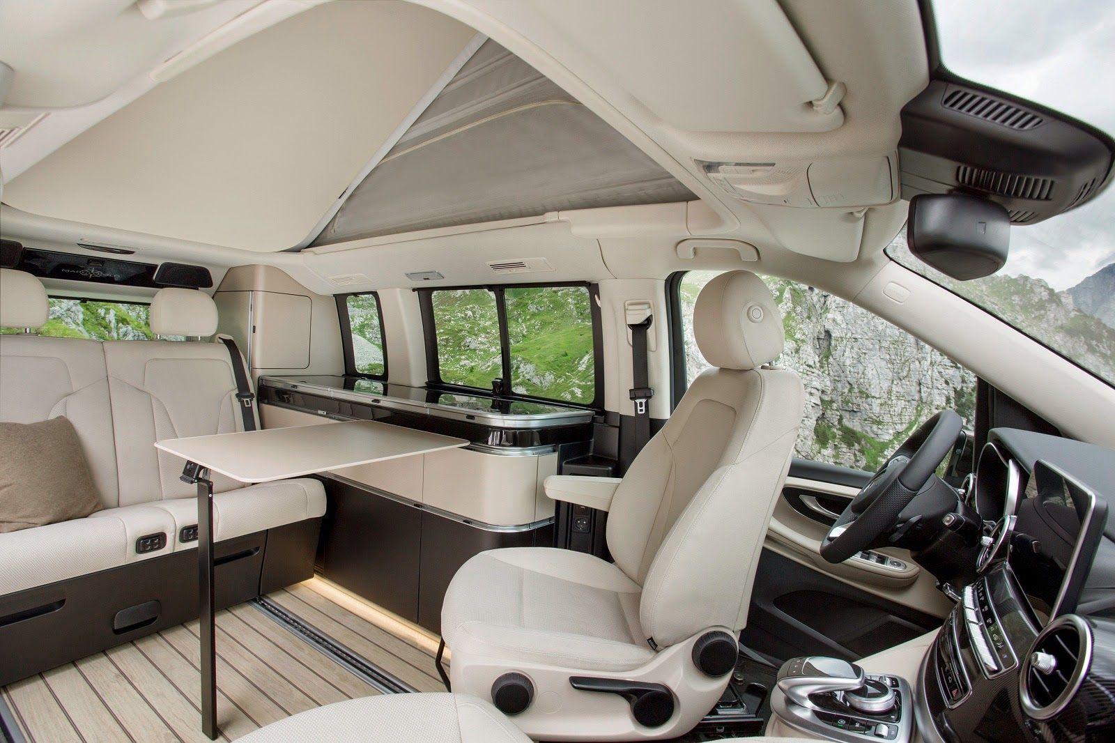 Mercedes Benz Marco Polo Camper Van Luxury Campers Mercedes Camper Mercedes Benz Vans