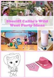 A Sheriff Callie's wild west birthday party theme would be the perfect way to celebrate your little cowgirls big day. Ideas and supplies for decorations,...