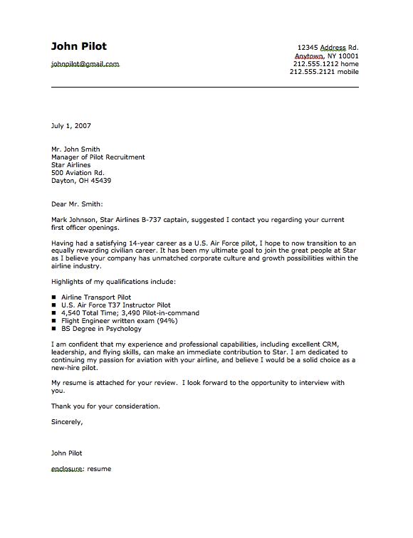 Military Pilot Cover Letter Sample Free Resume Sample Cover Letter For Resume Cover Letter Sample Letter Sample