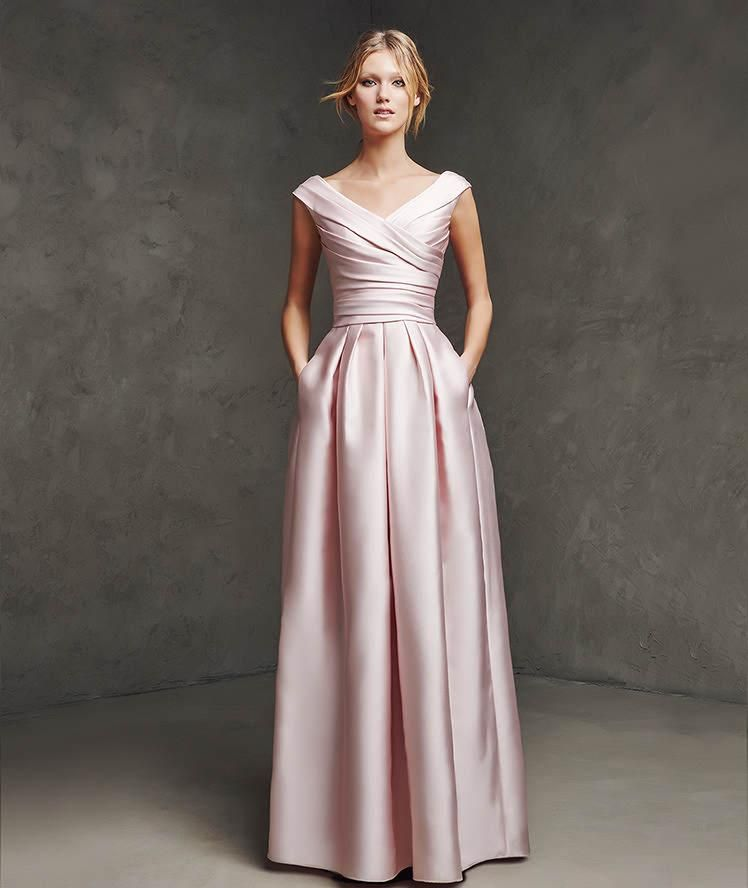 Pink Bride Dresses Mother of the Winter