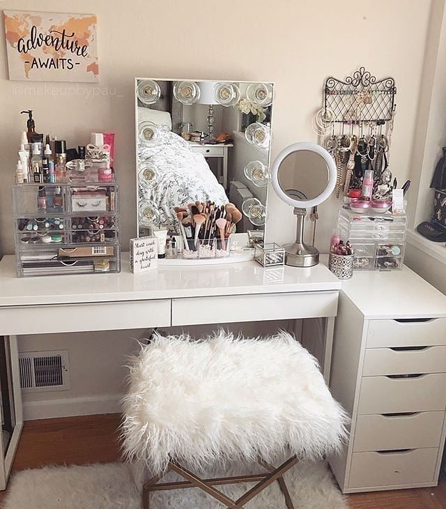 Makeup Vanity Ideas For Decor And Places To Put My Makeupn