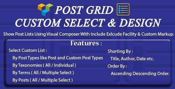 Custom Select & Custom Design By