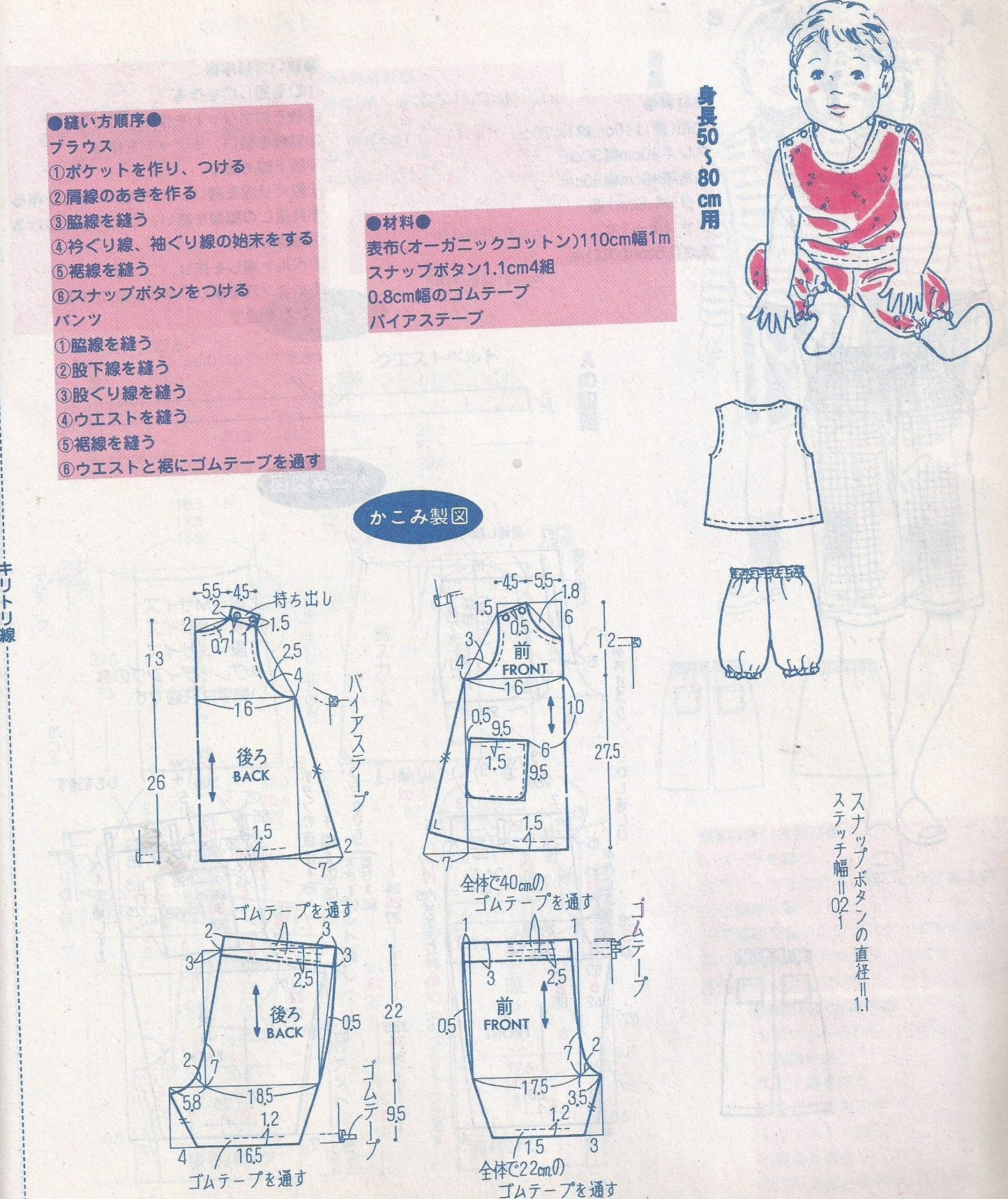 Pin von Handmade Society auf Easy Patterns to Draft from Japanese ...