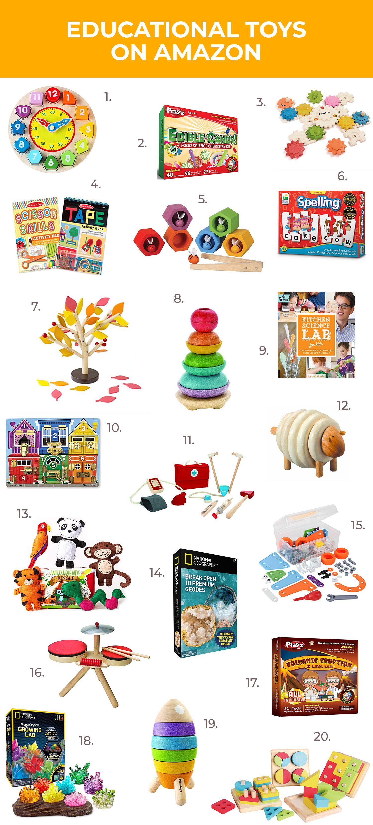 Educational Kids Toys On Amazon | Educational toys for ...
