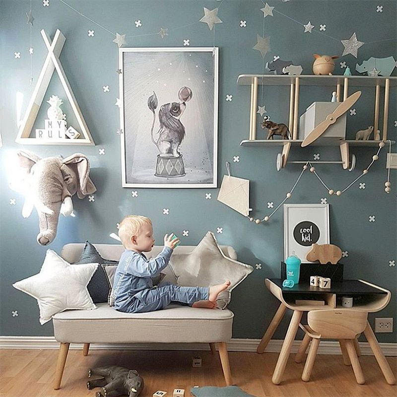 Cross Wall Sticker For Kids Room Baby Boy Room Wall Decor Girl Room Home Decor Nursery Ideas Vinyl Wall Stickers W Baby Room Wall Baby Boy Rooms Baby Boys Wall
