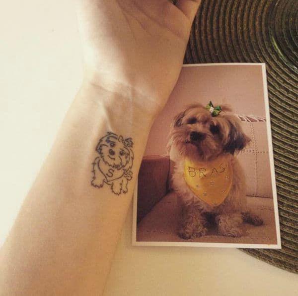 41 Dog Tattoos to Celebrate Your FourLegged Best Friend