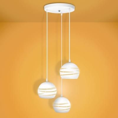 Design moderne Lampe suspension creuse salle à manger lumière île - salle a manger design moderne