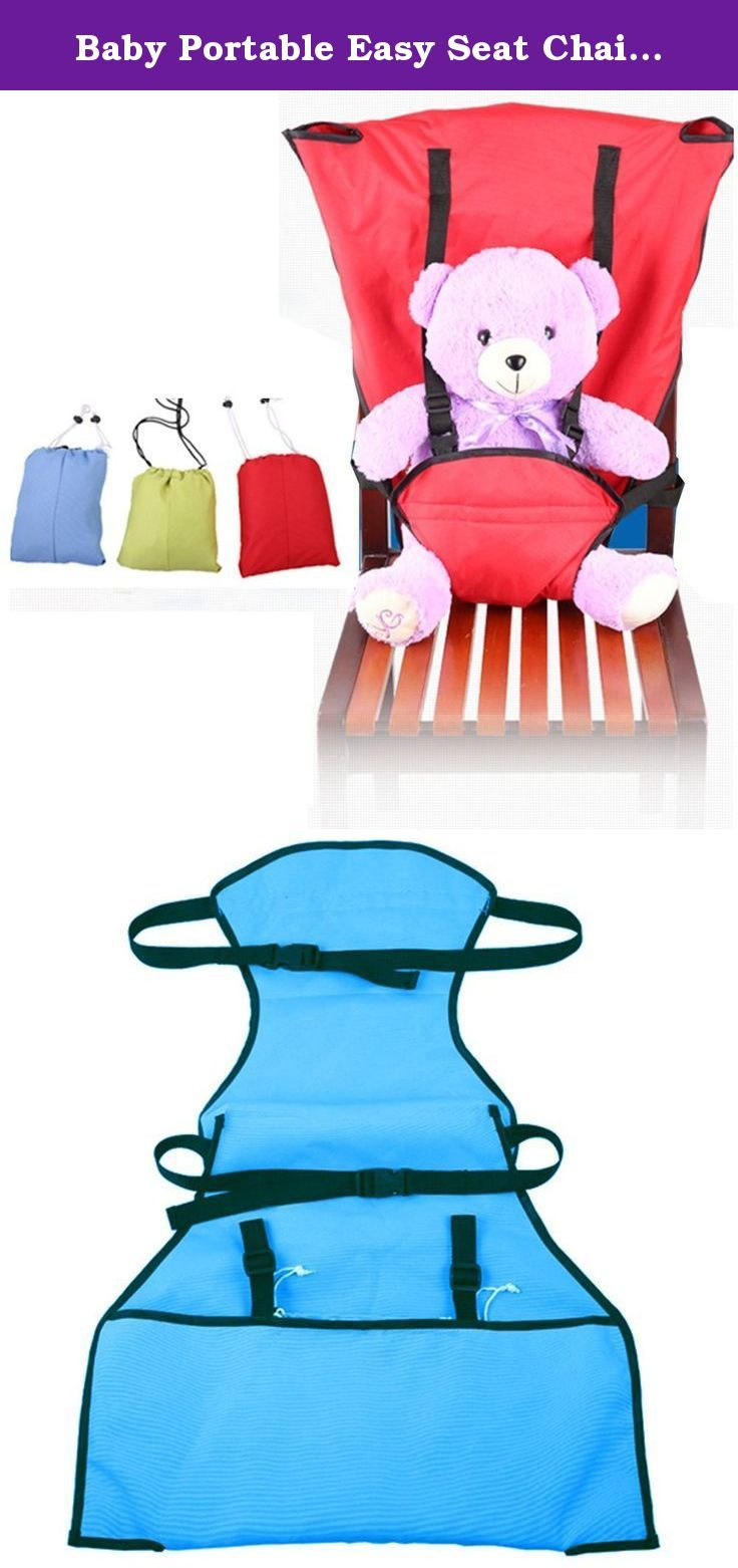 Baby Portable Easy Seat Chair Harness Multifunctional