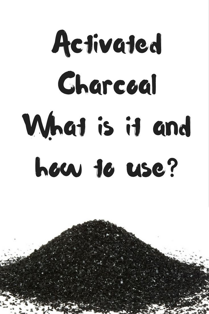 What Is Activated Charcoal And What Are Its Uses? via @janesheeba