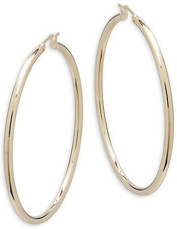 14k Yellow Gold Hoop Earrings Earrings Jewelry Hoop Earrings Earrings Gold Earrings