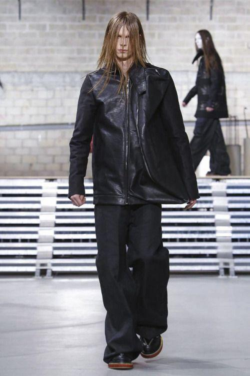 Rick Owens FW17.  menswear mnswr mens style mens fashion fashion style rickowens runway