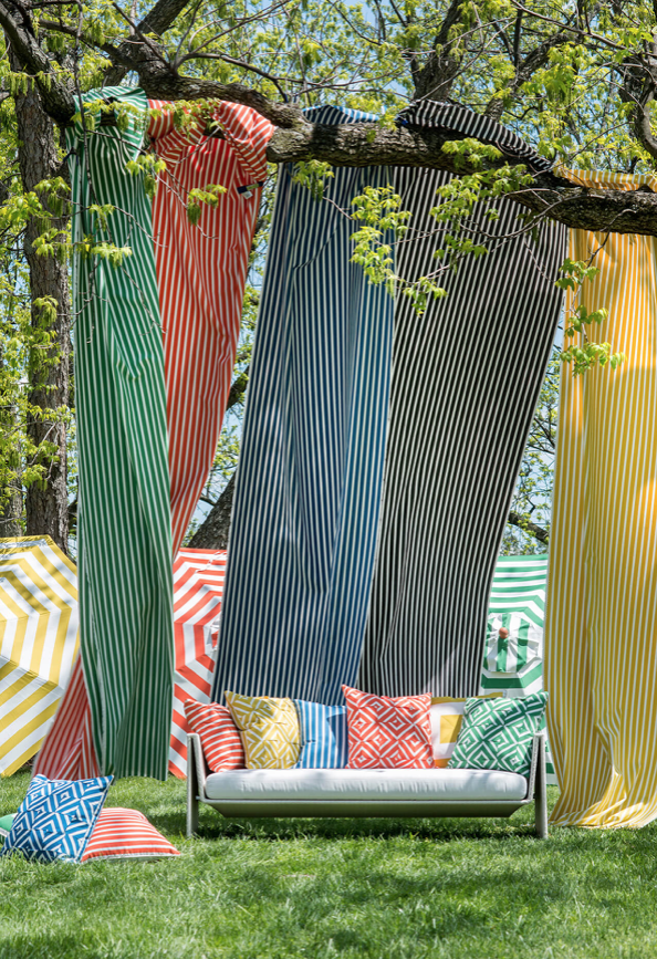 Colourful Outdoor Fabrics For Pillows And More Decor Blinds