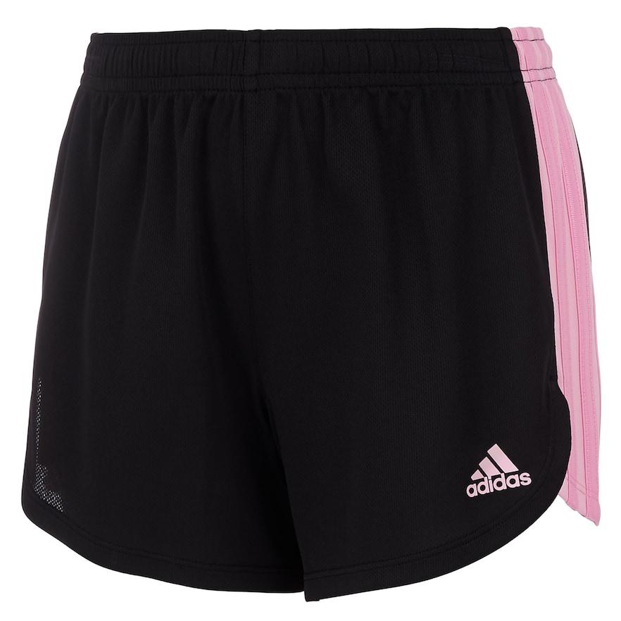 e15f76fa263 Girls 7-16 Adidas Three Stripe Mesh Shorts