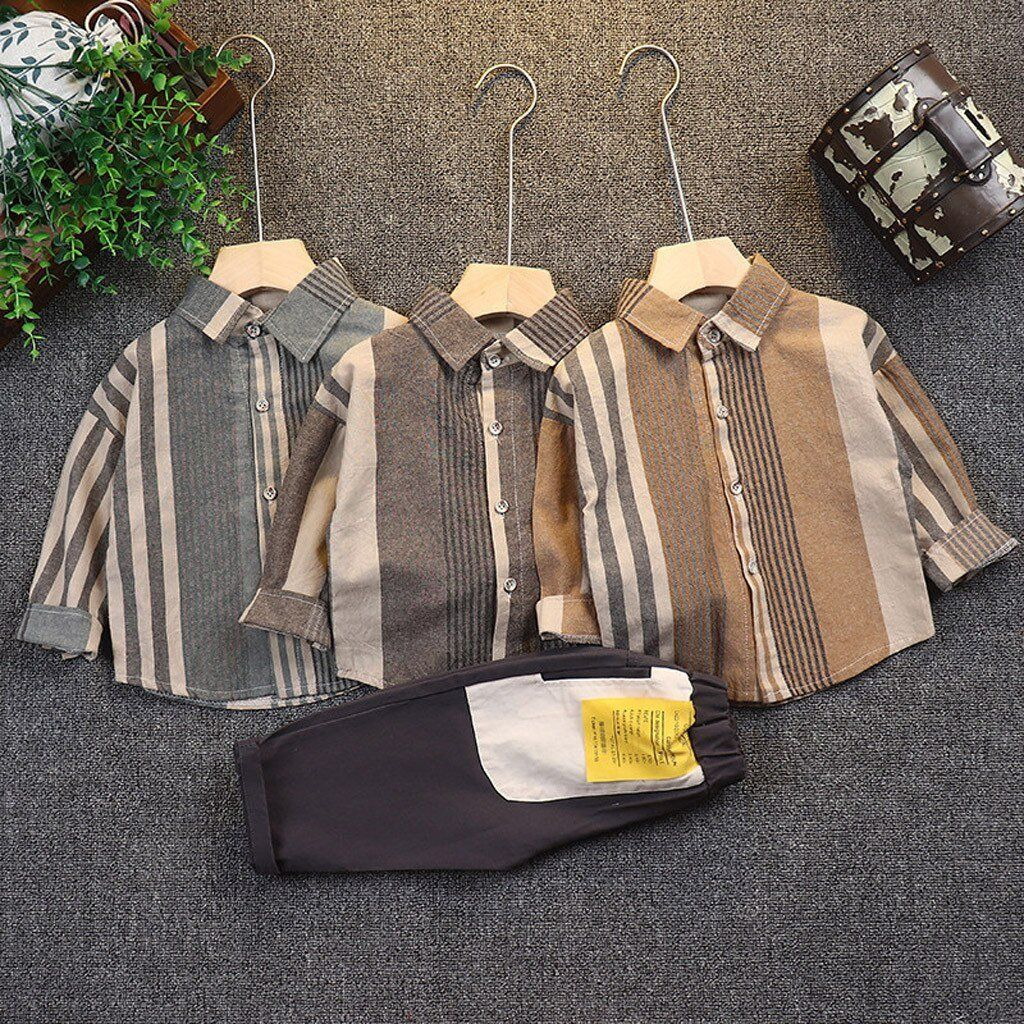 Children Kids Baby Boys Gentleman Clothes Sets – cute outfits