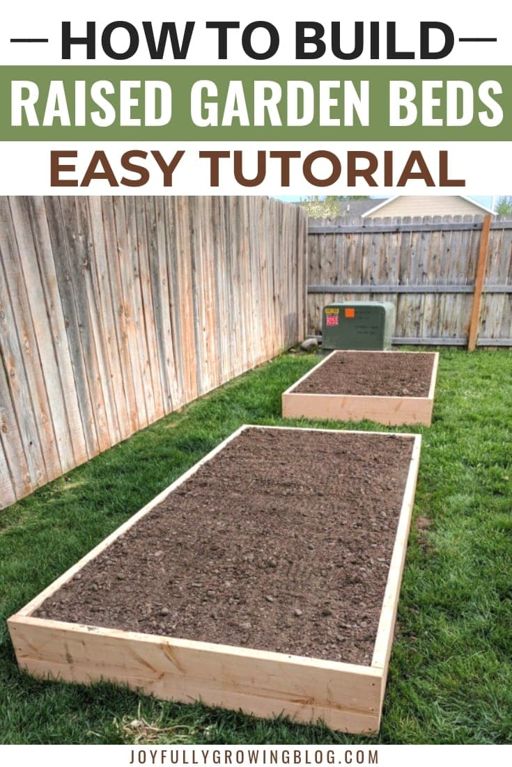 How To Build Raised Garden Beds Building A Raised Garden Raised Garden Beds Garden Beds