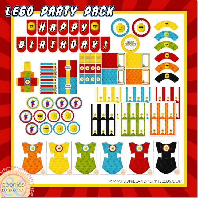 Time To Party FREE Birthday Party Printables Galore – Lego Party Invitations Free