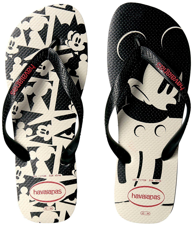 bc15139a2 Havaianas Disney Stylish White Black Infradito Price From  15