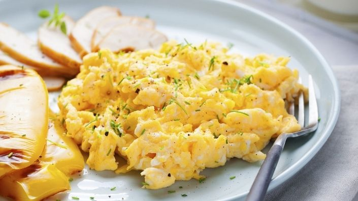 Watch Here's Why Using a Sieve Results in The Fluffiest Scrambled Eggs