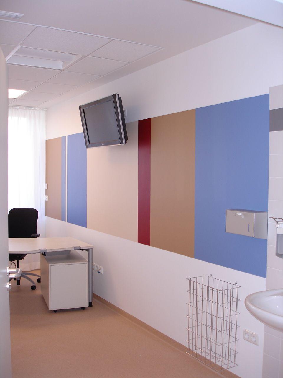 Praxis für Pränatalmedizin Bremen, Farbgestaltung
