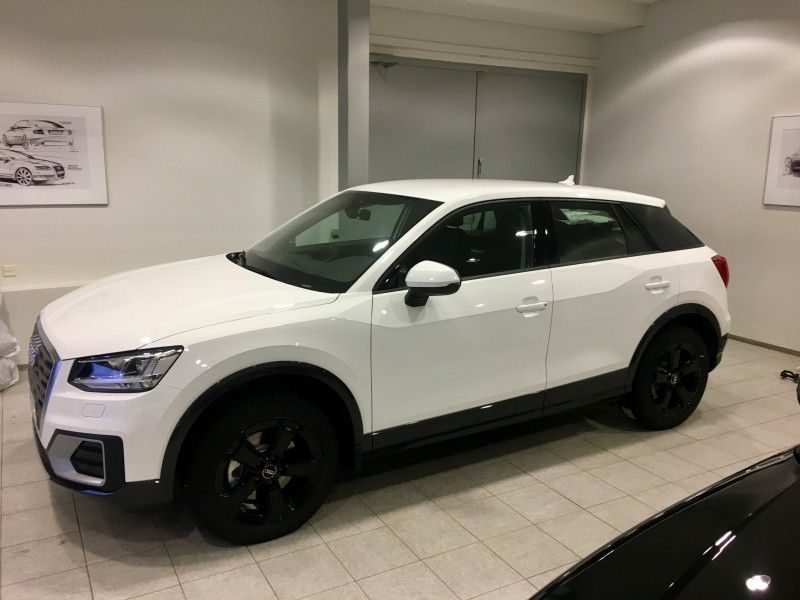 Audi Q2 White With Black Wheels Car Pinterest Audi Black