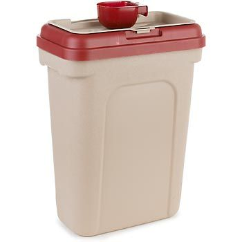 petco pet food storage container