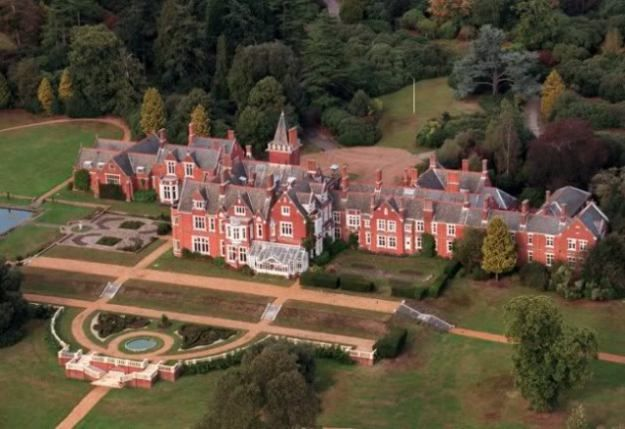 Bagshot Park Surrey Home Of The Earl And Countess Of Wessex