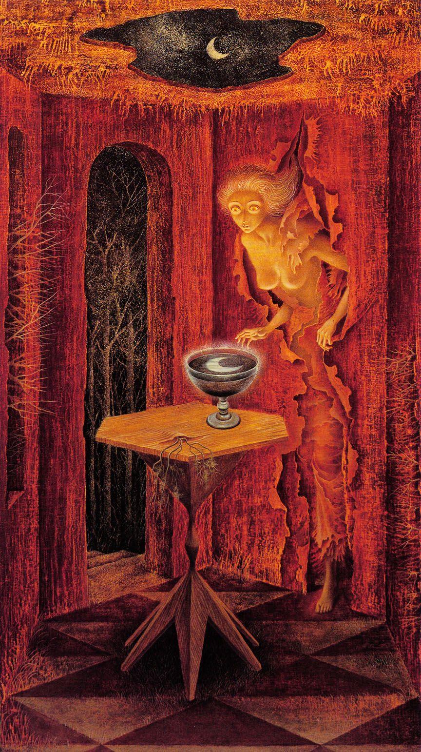 Leonora Carrington. sureal portals