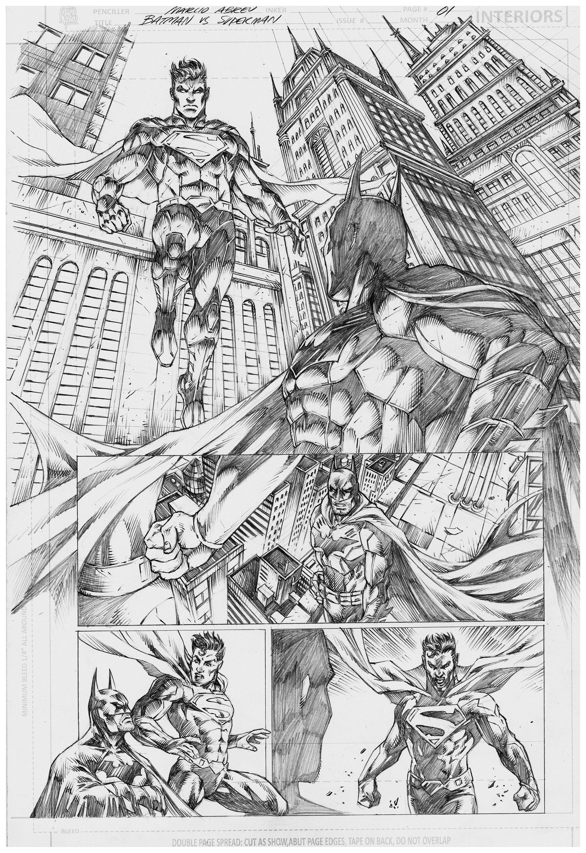 Batman vs Superman   Marcho Abreu   Pinterest   Lápiz