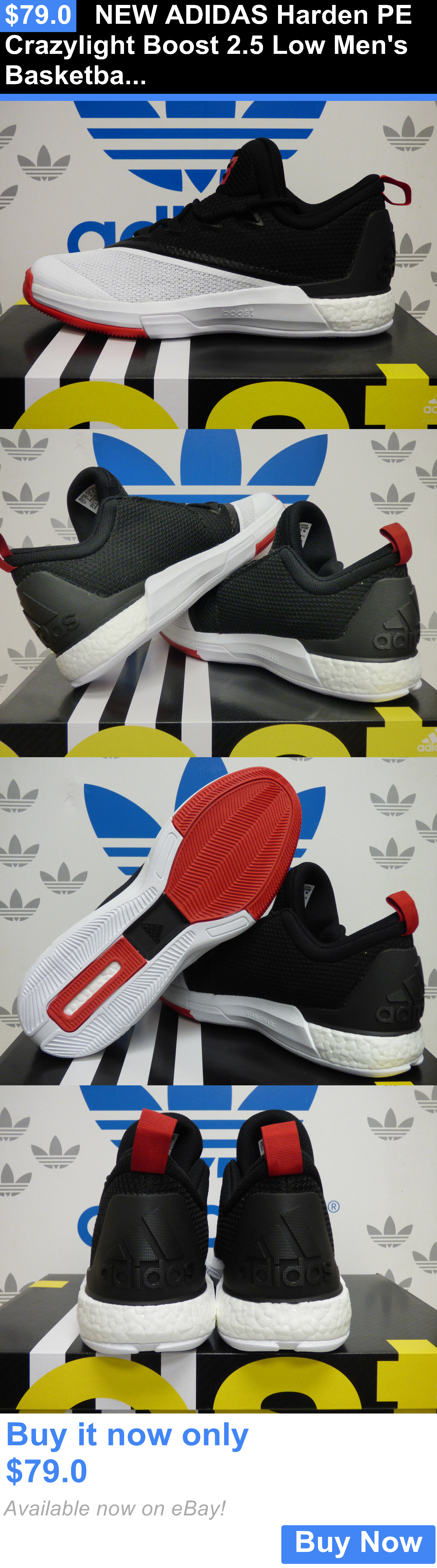 c2ddfb58d77c Basketball  New Adidas Harden Pe Crazylight Boost 2.5 Low Mens Basketball  Shoes - B42728 BUY IT NOW ONLY   79.0