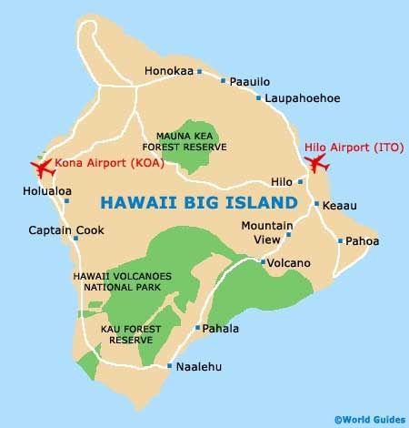 Big Island Map Happy 10th Anniversary Pinterest Big Island