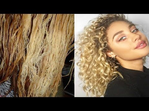 Youtube Treatment For Bleached Hair Curly Hair Tips Curly Hair Styles Naturally