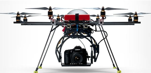 Drone For Aerial Shots With Your Canon DSLR