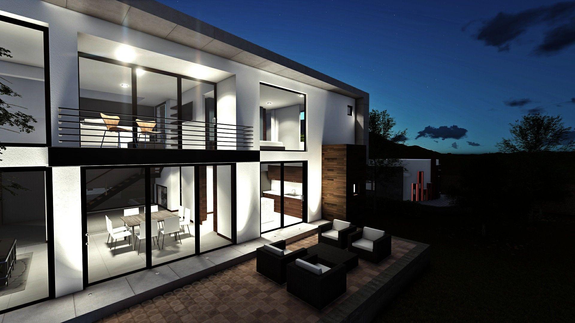 Main Deck Contemporary House Design Contemporary House