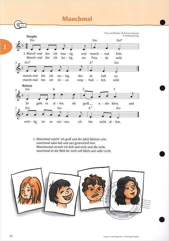 Bild 9/17 | Kindergarten lieder, Kinder lied und Lieder