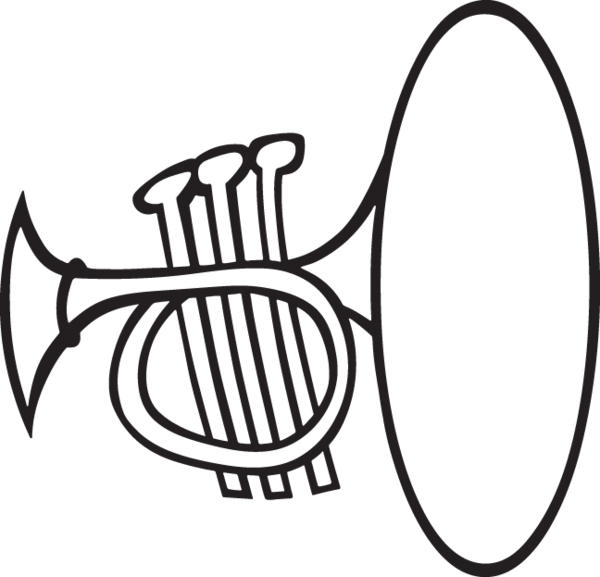 Music Silhouettes Music Silhouette French Horn Silhouette Clip Art